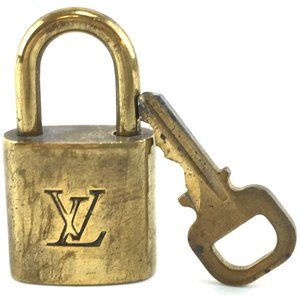 Louis Vuitton Gold Keepall Speedy Lock Key Set#342